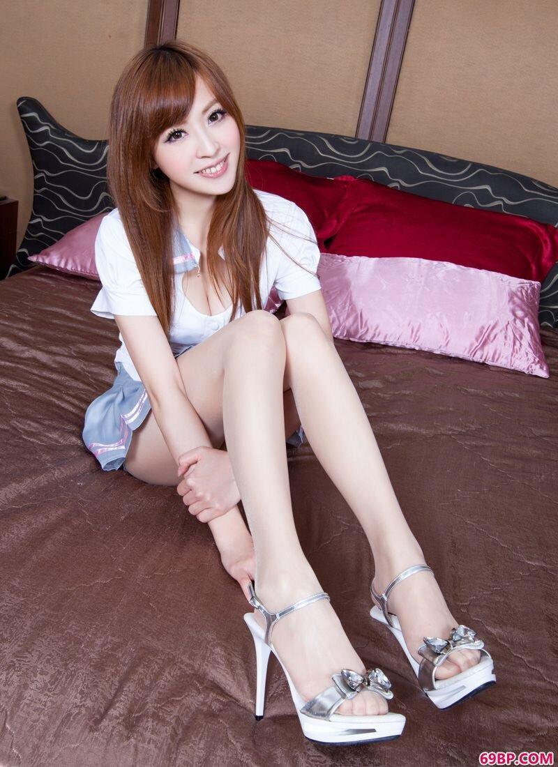 美腿超模第343期Lucy_gogo全球最大胆的人体模特