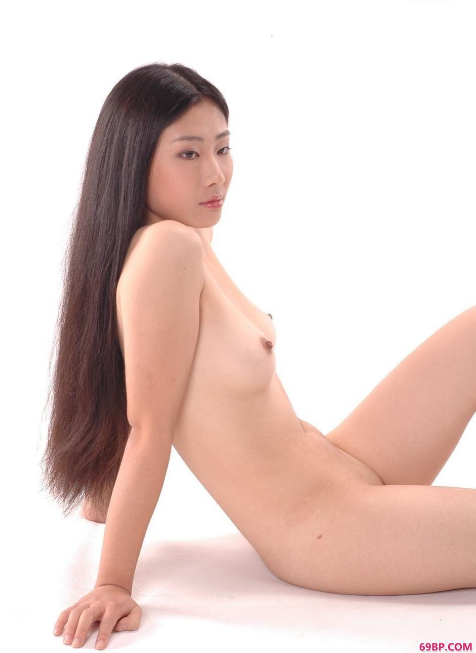 裸模纪筝室拍青春靓丽人体2